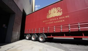 Royal Opera House – Les Troyens Set