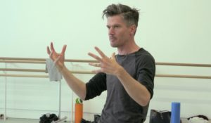 Rambert – Goat: Ben Duke in Rehearsal